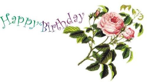 Die Liebe Rose Hat Heute Geburtstag Gratulationen Gluckwunsche