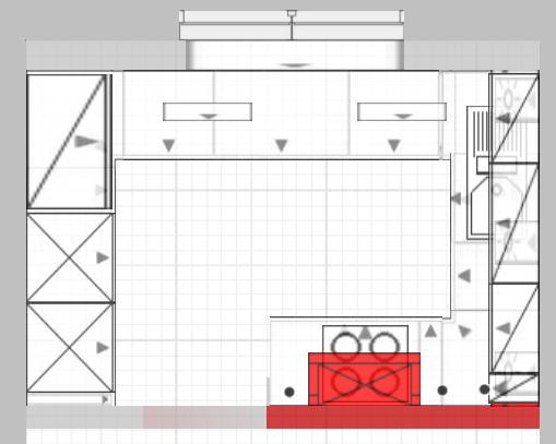 kleine Stauraumküche Planungen der Küchenstudios zur