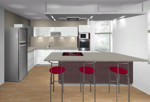 k chen ideen kleiner raum schau unter die haube. Black Bedroom Furniture Sets. Home Design Ideas