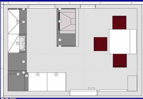 Küche Planen L-form | arkhia.com | {Küche mit kochinsel grundriss 96}