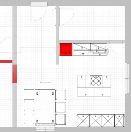 Hochschränke Küche mit gut design für ihr haus design ideen