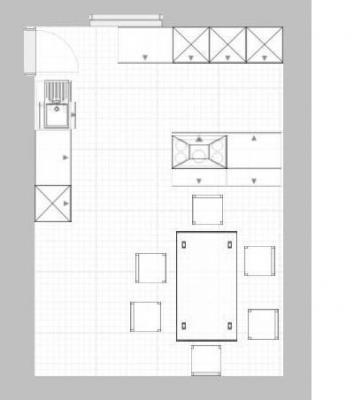 k chenplanung u form oder kochinsel k chenausstattung. Black Bedroom Furniture Sets. Home Design Ideas