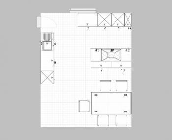 Küchenplanung maße  Küchenplanung maße – Doppelwaschbecken stein