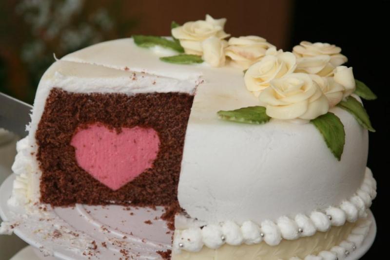 Mit Viel Vorbereitung Endlich Geschafft 1 Hochzeitstorte