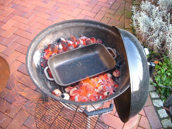 Weber Holzkohlegrill Hitze : Wie bediene ich einen kugelgrill richtig beim indirekten grillen