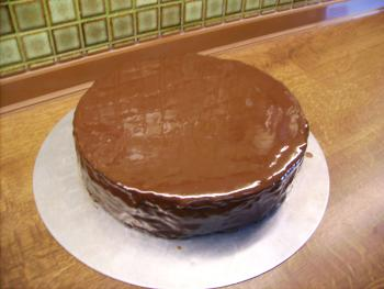 Schokoglasur Fur Torten Torten Kuchen Forum Chefkoch De