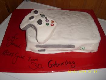 meine xbox 360 torte zum geburtstag motivtorten fotos forum. Black Bedroom Furniture Sets. Home Design Ideas
