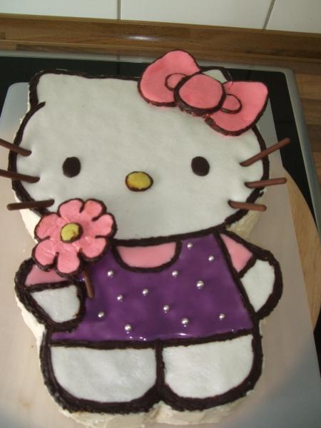 Mochte Euch Mein Letztes Werk Zeigen Hello Kitty Torte