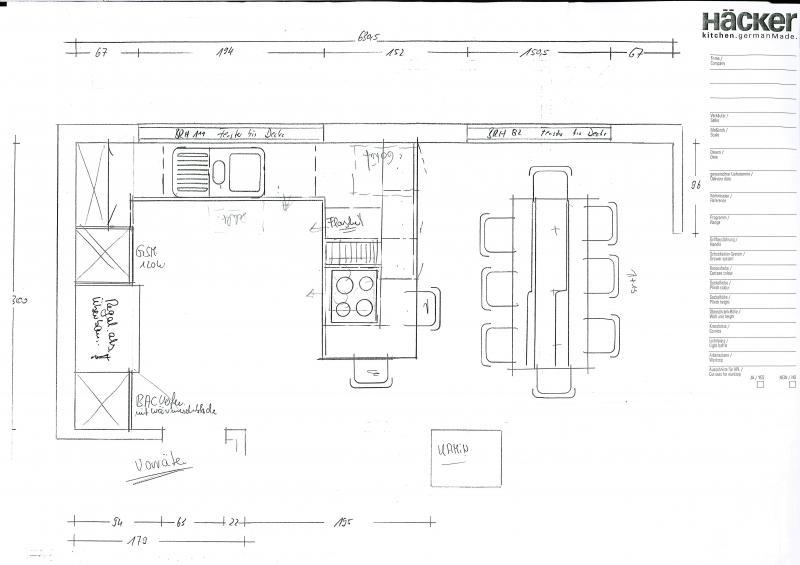 Küche planen ideen  Häcker Küche planen! Wer hat Ideen und kann mir Vorschläge machen ...
