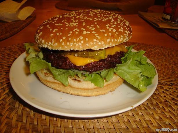 burger pads selber machen aus american beef entrecote grillen forum. Black Bedroom Furniture Sets. Home Design Ideas