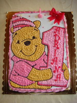 Und nochmal winnie pooh motivtorten fotos forum for Winnie pooh kuchen deko