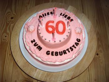 Geburtstagskuchen 60 geburtstag