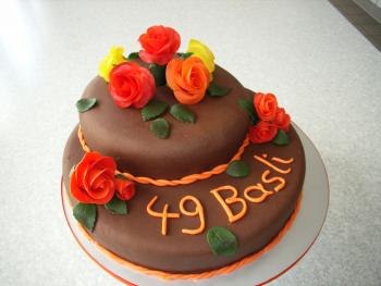 Geburtstagstorte 49