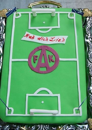 Fussball Torte Mit Foto Motivtorten Forum Chefkoch De