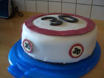 Torte Zum 30 Motivtorten Forum Chefkochde