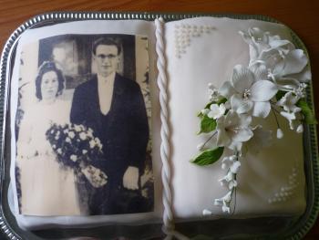 Torte Zur Diamantenen Hochzeit Motivtorten Fotos Forum Chefkoch De