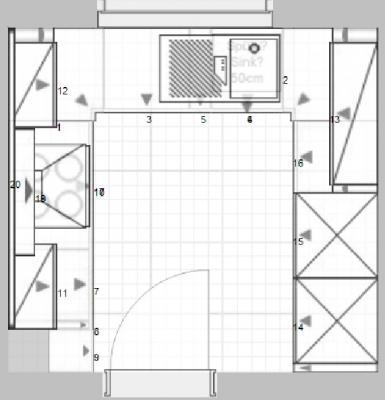Ikea-Küche - die Planung beginnt und die ersten Fragen tauchen auf ... | {Küche planen grundriss 8}