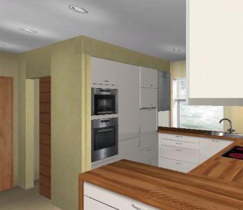 raumh he knappe 2 60m k chenelemente bis unter die decke. Black Bedroom Furniture Sets. Home Design Ideas