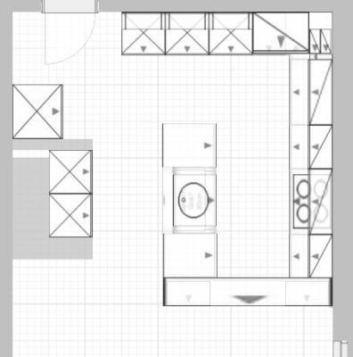 Küchenplanung - dringend Hilfe und Erfahrung benötigt ...   {Küchenplanung grundriss 92}