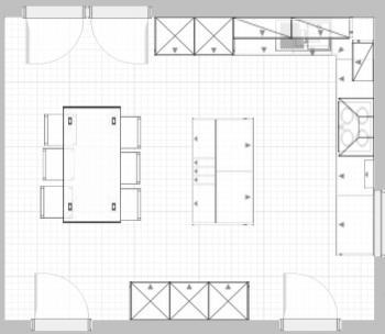 Kochstudio grundriss  Küchenplanung - wäre total dankbar für eure Hilfe und Tipps und vor ...