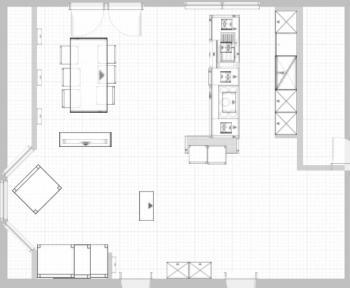 Planung offene Küche mit Erker - Bitte um Mithilfe ...   {Küchenplanung grundriss 65}