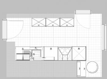 Maße Küchenblock hilfe für aufteilung in kleiner küche erbeten küchenausstattung