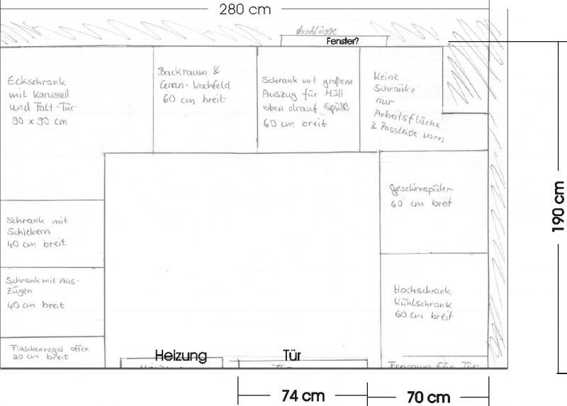 Ikea-Küche - die Planung beginnt und die ersten Fragen tauchen auf ... | {Eckschrank küche maße 89}