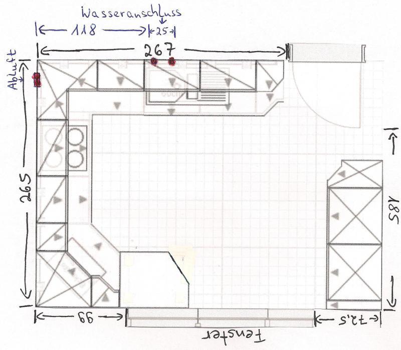 Küchenplanung Maße | ambiznes.com