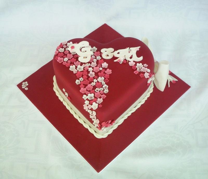Rotes Herz Zum Hochzeitstag Motivtorten Fotos Forum Chefkoch De