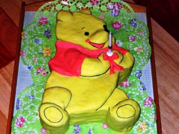 Mal wieder Winnie Pooh-Kuchen   Motivtorten Forum   Chefkoch.de