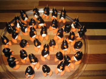 Pinguine Trauben Frischkäse Mega niedlich einfach 3293389437
