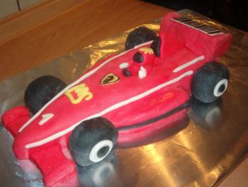 Formel1 Ferrari Torte Fertig Gott Sei Dank Motivtorten Forum