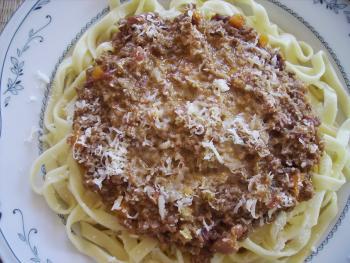 Albertos Cucina Bandnudeln Bologneser Sosse DIN Norm 2608739265