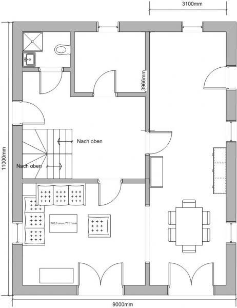 1 schritt der k chenplanung in den eigenen 4 w nden. Black Bedroom Furniture Sets. Home Design Ideas