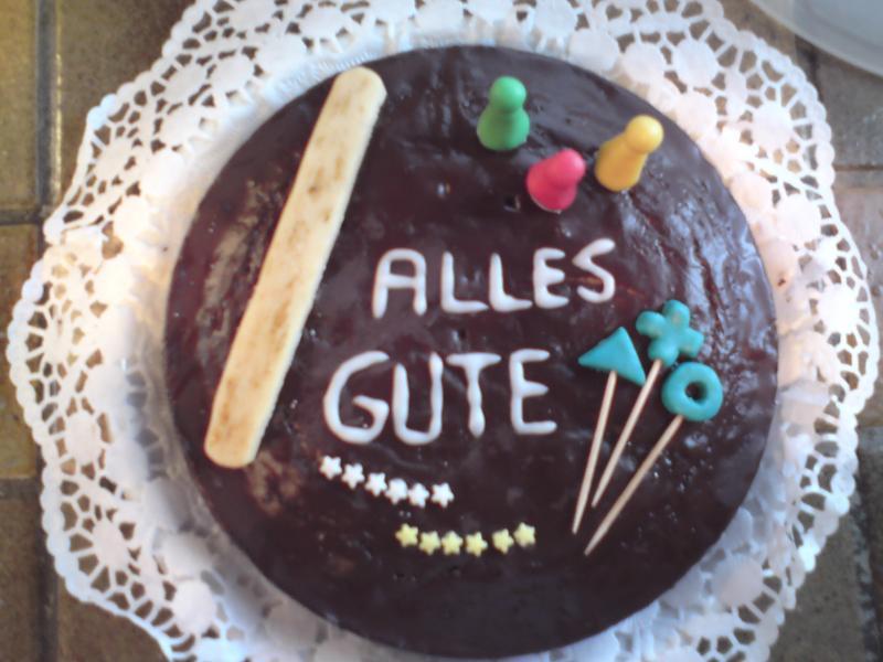 Hab Gebacken Ein Logo Torte Zum Abschied Motivtorten Fotos
