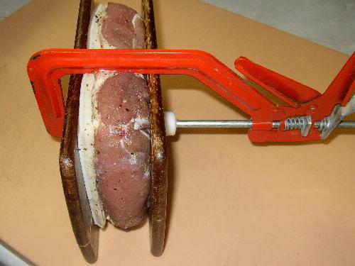 Hobbyko erster Versuch Schinkenspeck Filet vakuum pökeln 2614640093